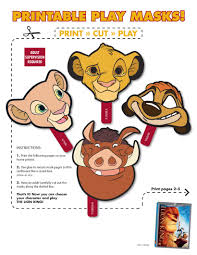 animal masks for kids 15 fun printable masks to print and cut out