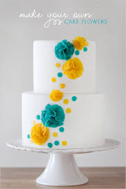 fresh wedding cake decorations flowers with diy cake flowers