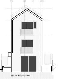 sustainable apartment plans and elevations vertical house raises sustainable seattle living to new heights