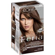 hair color for 45 l oreal multi faceted shimmering colour 45 deep bronzed brown hair