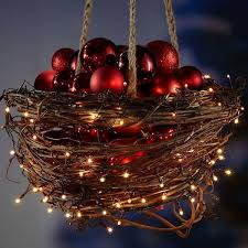 outdoor decoration ideas balls bells bows and