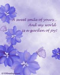 a sweet smile free july flowers ecards greeting cards 123