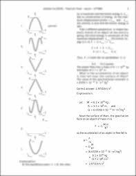 correct answer 2 97318 m s 2 explanation let m u003d 6 1 10 23 kg r