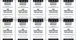 2005 dodge ram truck repair shop manual 10 vol set factory