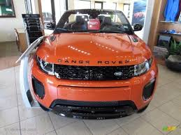 orange range rover evoque phoenix orange 2017 land rover range rover evoque convertible hse