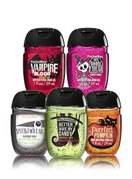 halloween cologne halloween faves 5 pack pocketbac sanitizers bath u0026 body works