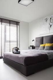 Black And White Bed Small Black And White Apartment In Poland Exudes Refined Minimalism