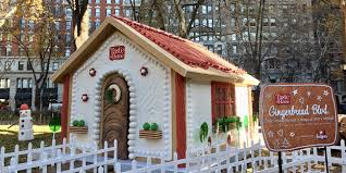 taste of home brings big gingerbread house to nyc the drum