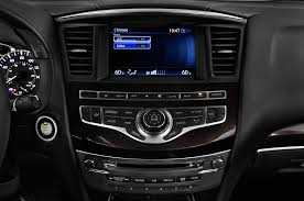 compare infiniti qx60 and lexus rx 350 2016 infiniti qx60 hybrid center console interior photo