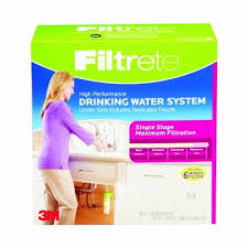 filtrete maximum under sink water filtration filter qoo10 filtrete maximum undersink water filtration system 3usmaxs01