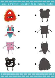 106 best shadow matching images on pinterest kindergarten