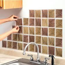 Kitchen Backsplash Peel And Stick Tiles Stick On Tile Backsplash Jsaunion Info