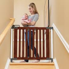 Baby Gate Hardware Qdos Safety Baby Gates Modern Wood Baby Gates