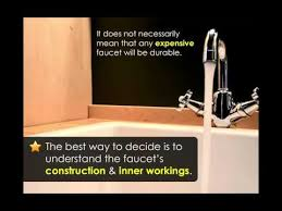 buying a kitchen faucet three considerations when buying a kitchen faucet