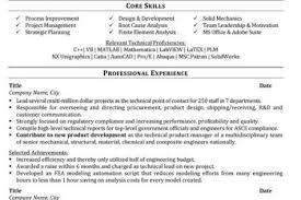 Entry Level Mechanical Engineering Resume Sample by Design Mechanical Engineer Sample Resume Haadyaooverbayresort Com