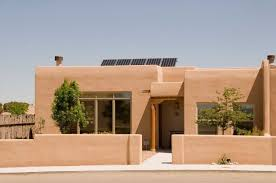 pueblo house plans santa fe style home with walkout floor plan evstudio architect