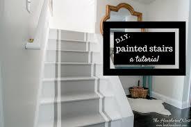 location interior diy painted stairs tutorial 1 17 painting hampedia