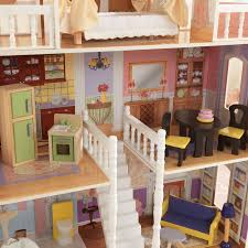 kidkraft savannah dollhouse with 13 accessories included walmart com
