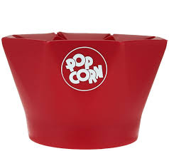 Old Fashioned Popcorn Machine Chef U0027n Steam Release Microwave Popcorn Popper With Seasonings