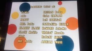 Rolie Polie Olie Halloween Vhs by Rolie Polie Olie Ending Credits Youtube