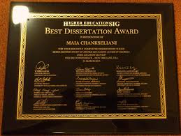 Dissertations In Education Best Dissertation Award Oxford University Department Of Education