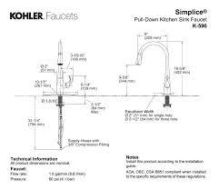 kohler kitchen faucet parts diagram kohler faucet parts rnsc co