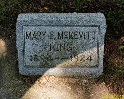 Mary Francis McKevitt King (1894 - 1924) - Find A Grave Memorial - 96545906_134681942164