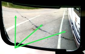 Motorhome Blind Spot Mirror Setting Rv Mirrors For You