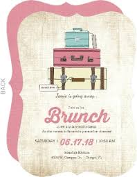 brunch party invitations going away party invitations and going away invitations
