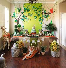 jungle theme birthday party jungle birthday party decor image inspiration of cake and