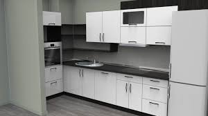 White Kitchen Design Kitchen Gray Granite Floor Black And White Kitchen Table Brown