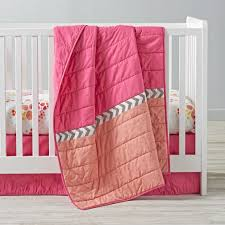 girls nursery bedding sets flower show crib bedding the land of nod