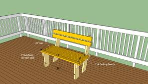 deck bench ideas radnor decoration