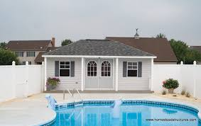 pool shed ideas u0026 designs pool storage in pa homestead structures