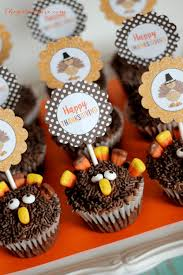 turkey cupcakes with toppers the who ate everything