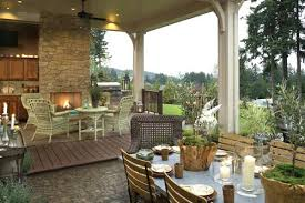 outdoor living floor plans outdoor living spaces plans single level house plan with outdoor