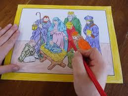 15 printable coloring pages jesus nativity