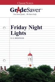 friday night lights book online friday night lights essay experiments light essay help friday night