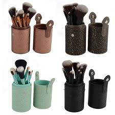 12 pcs makeup cosmetic powder foundation brush set kit cup