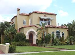 Home Exterior Design Program Free by Warm Mediterranean Decor Exterior With Cream Facade And Green