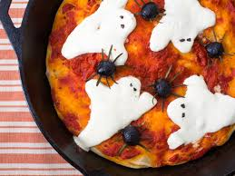 halloween dinner doesn u0027t get easier than this ghost and spider pan