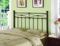 amazon com coaster home furnishings metal headboard queen full