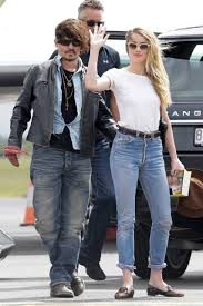 Heard Amber Heard And Johnny Depp Spotted For First Time Since Wedding