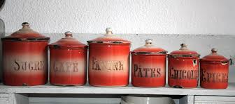 Kitchen Canister Sets Red 28 Unique Kitchen Canister Sets Unique Kitchen Canisters