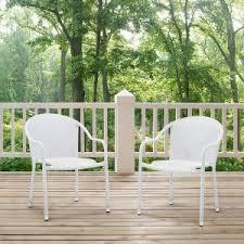 resin wicker outdoor dining chairs hayneedle