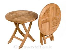 Folding Side Table Photo Of Small Folding Side Table Merrybrook Teak Outdoor Side Or