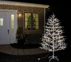 Decorative Trees With Lights Pre Lit Trees Ge Holiday Lighting