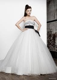 Pronuptia Wedding Dresses Glam Black And White Wedding Costume Looks U2013 Weddceremony Com