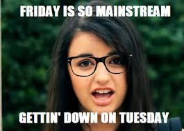 Rebecca Black Memes - vitamin ha rebecca black hipster
