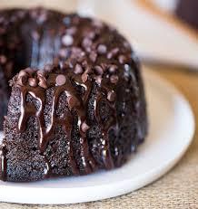 triple chocolate bundt cake dinner then dessert